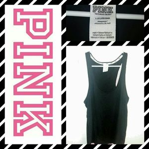 Large blk racerback tank from PINK